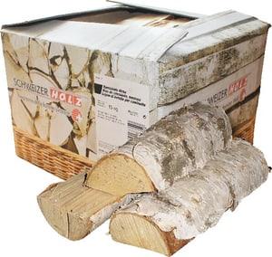 Brennholz Birke 15 kg im Karton