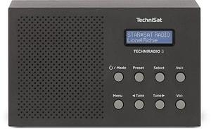 Techniradio 3 - Schwarz
