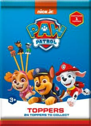 Paw Patrol Pencil Topper 1 Surprise Bag