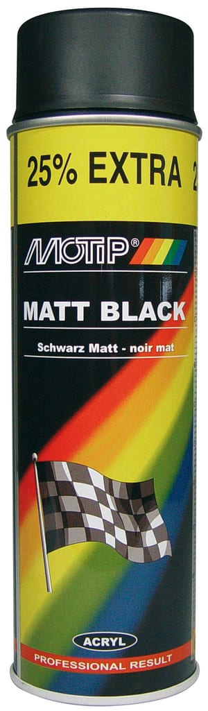 Matt Black 500 ml