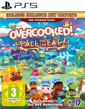 PS5 - Overcooked - All You Can Eat D