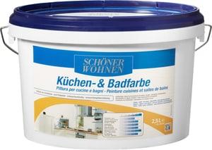Pittura per cucine e bagni Bianco 2.5 l