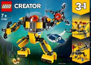 Creator 31090 Robot sottomarin