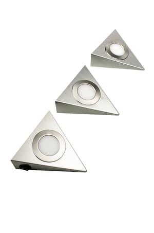 Lampada LED ad incasso, Set da 3 pezzi