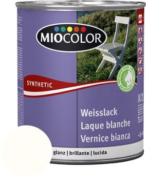 Laque acrylique blanche brillante Blanc pur 750 ml