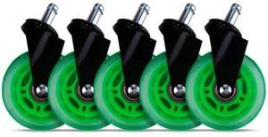 Rubber wheels 160531