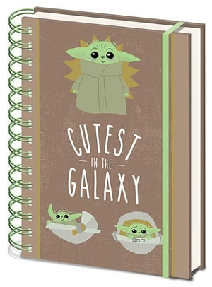 Star Wars: The Mandalorian (Cutest in the Galaxy) - A5 Notizbuch