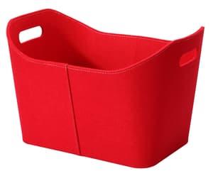 Panier 55 x 43 cm rouge