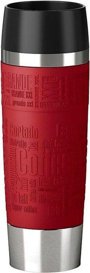 Travel Mug Grande 0.5 l, Silber Rot