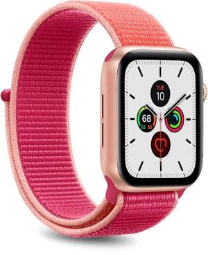 Nylon Wristband - Apple Watch 38-40mm - sunset pink