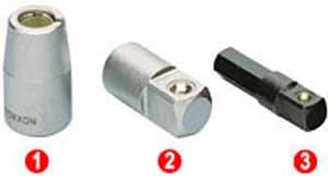 "1/4"" Adapter Innenvierkant auf 3/8"" Aussenvierkant"