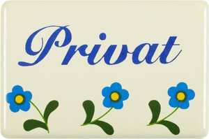 Emailschild Privat