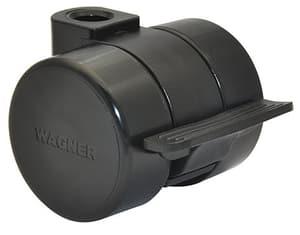 Ruota per mobili D37 mm con fermo