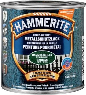 Pittura per metalli martellat verde scuro 250 ml