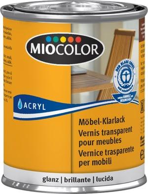 Vernice trasparente per mobili lucida Incolore 125 ml