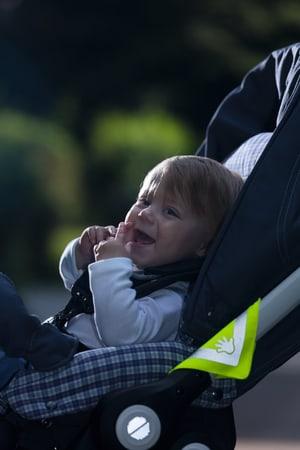 Kinderwagenreflektor Mike