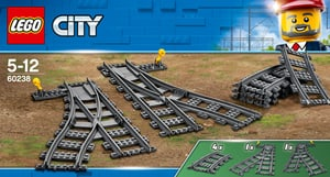 City 60238 Switch Tracks