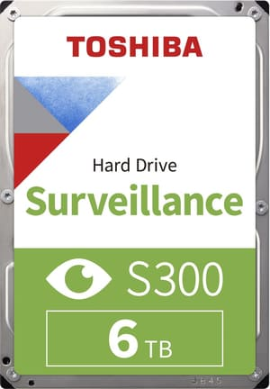 "S300 Surveillance 6TB 3.5"" SATA (BULK)"