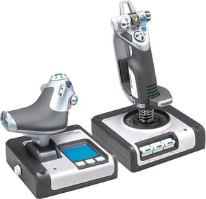 G Saitek Flight Control X52 System