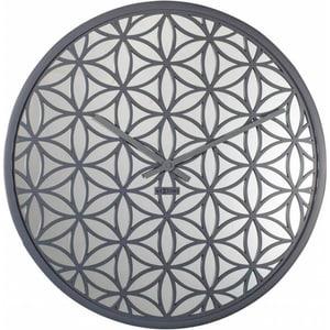 Orologio da parete Bella specchio grigio diam