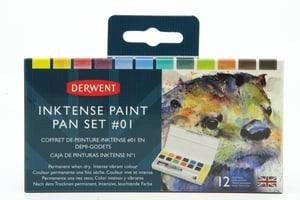 12 godets Inktense Paint Palette #1