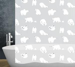 Duschvorhang Polar Bear