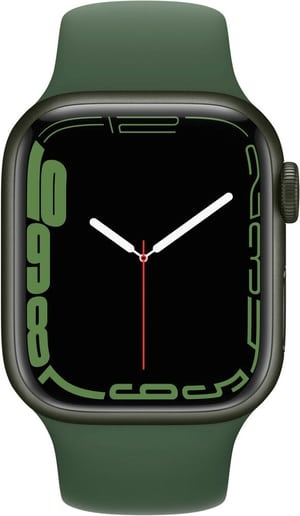 Watch Series 7 GPS + Cellular, 41mm Green  Clover Sport Band