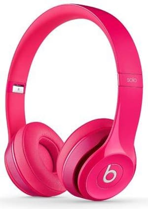 Beats Solo2 Casque on-ear pink