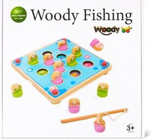 Woody Memory Fishing Game