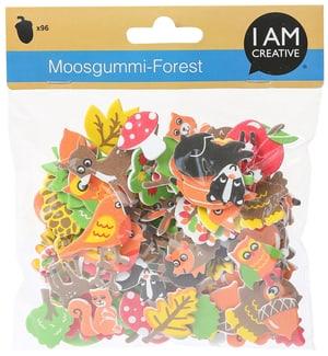 Moosgummi, Forest, 96 Stk.