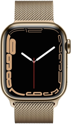 Watch Series 7 GPS + Cellular, 41mm Gold  Milanese