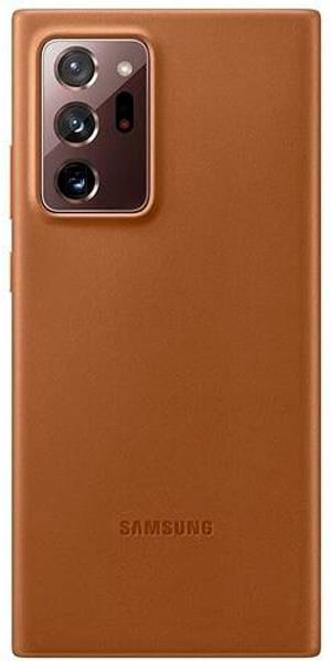 Leather Cover Note 20 Ultra brown