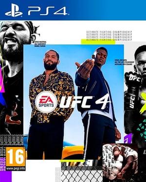 PS4 - UFC 4 Standard Edition D, F