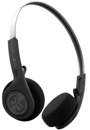 Rewind Wireless Retro Headphones - Schwarz