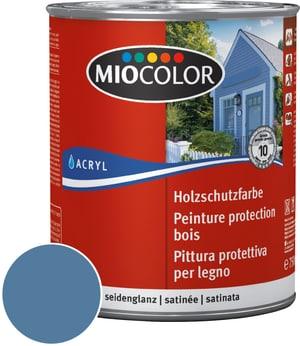 Pittura protettiva per legno Blu colomba 750 ml