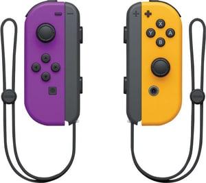 Switch Joy-Con twin-set neon-lila/neon-orange