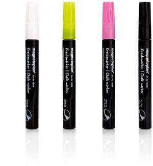 Chalkmarker rund 0,5-4mm 4-farbig