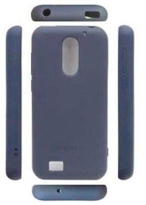 SMART 4 Backcover silicone bleu