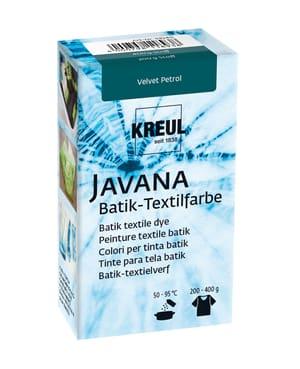 KREUL Javana Batik Teinture Textile Velours Pétrole 70 g