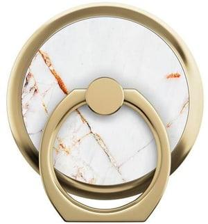 Selfie-Ring Carrara Gold Marble