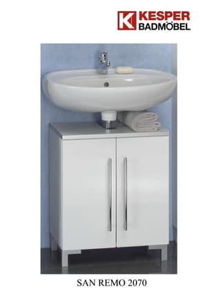 Waschbecken-Unterschrank San Remo