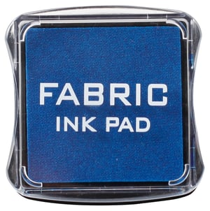 Fabric Ink Pad, bleu