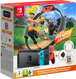 Nintendo Switch RingFit Adventure Edition