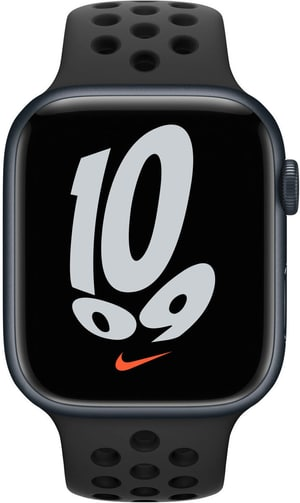 Watch Nike Series 7 GPS + Cellular, 45mm Midnight  Anthracite/Black Nike