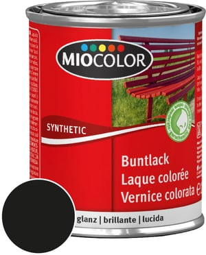 Synthetic Buntlack glanz Schwarz 750 ml