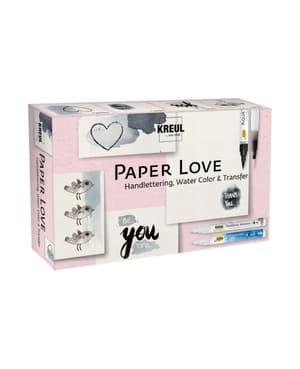 KREUL, PAPER LOVE set