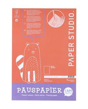 Pauspapier Block A4, 50 Blatt
