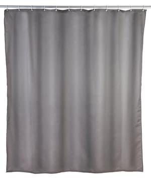 Tenda doccia tinta unita grigio 240x180 cm, Poliestere