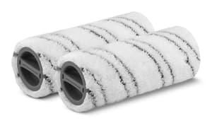 Rouleaux microfibre gris pour FC