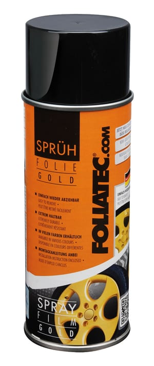 Sprühfolie gold metallic 400 ml